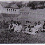 Butte Creek School 1930-31 Ellyn Charley teacher