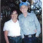Bonnie Nutter & father Arlin Millard