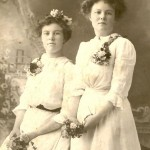 Florence Thumberg and sister Maude